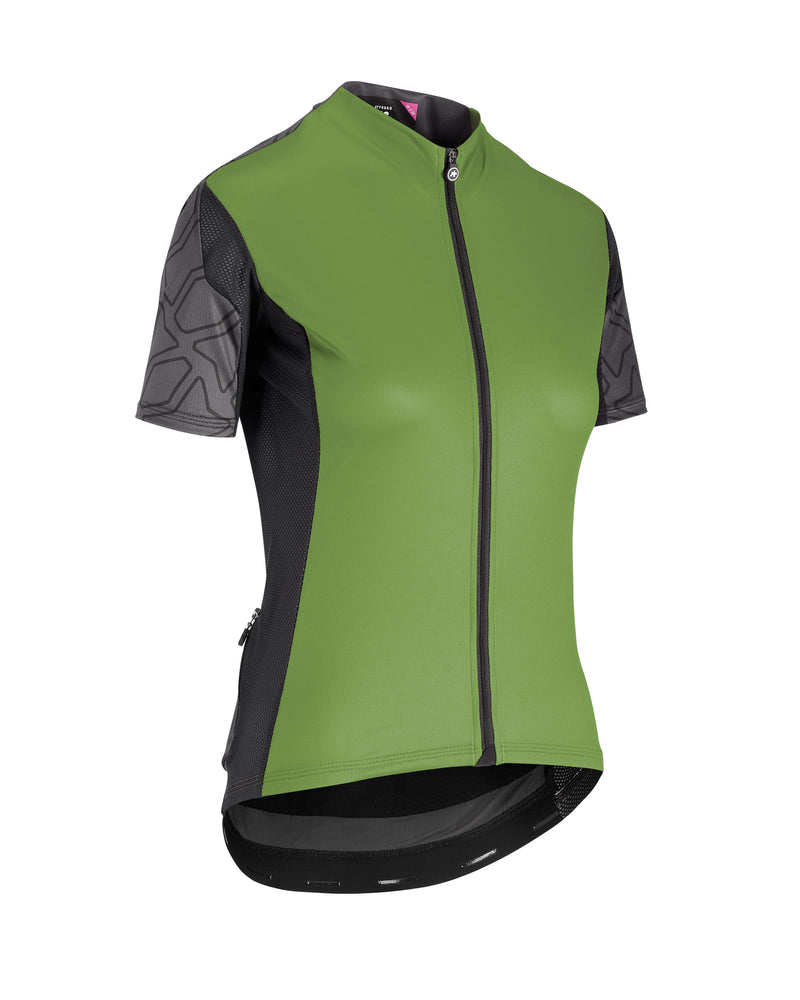 Assos XC Short Sleeve Jersey Woman Pan Green