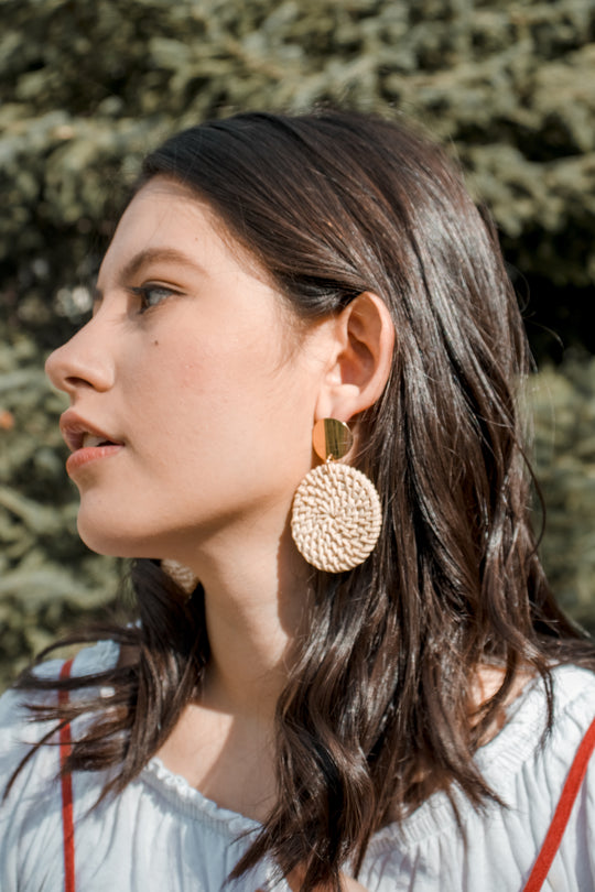 Top 5 Reasons Why Rattan Earrings Are A Must-Have