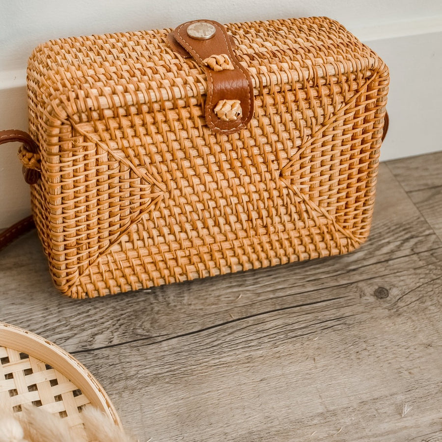 Rattan Bag - Girls Night Out