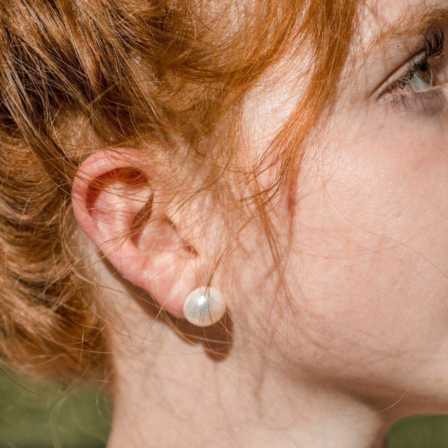 Hirsch & Timber: Classic Stud Freshwater Pearl Earrings