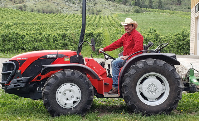 foreman on tractor