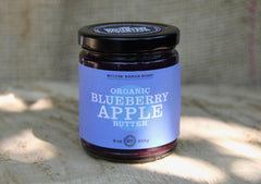 Blueberry apple butter