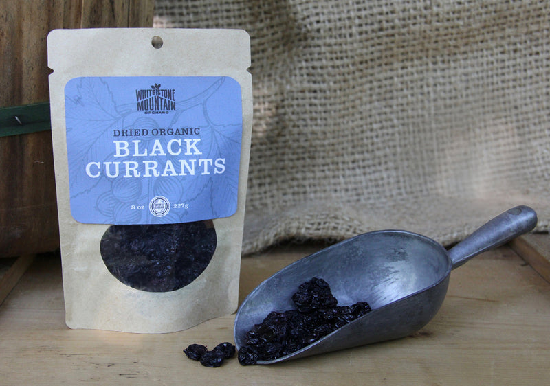Dried black currants