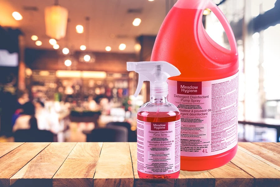 $59.99 Hard Surface Commercial Disinfectant 1 x 4L Refill + 1 x 500ml