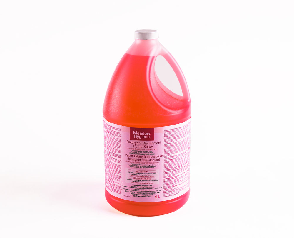 Industrial Hard Surface Disinfectant. Used to clean surfaces in public buildings, industrial facilities, schools, hospitals, offices, restaurants, and commercial retail spaces.