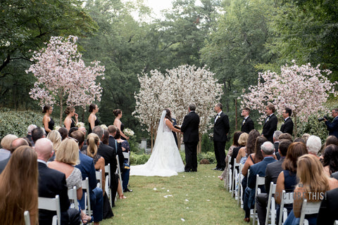 Wedding Cherry Trees