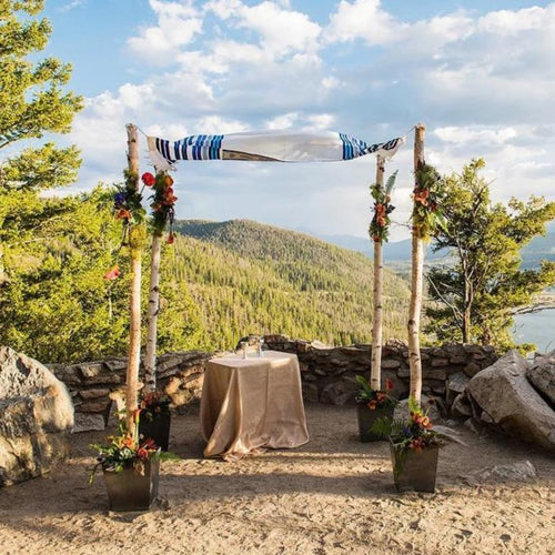 Birch Wedding Canopy -  Chuppah