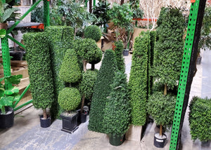 Boxwood Topiary - Assorted Artificial