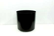 Load image into Gallery viewer, Black Standard Cylindrical Decorative Pots