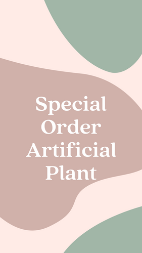 Artificial Plant Rental - Special Order