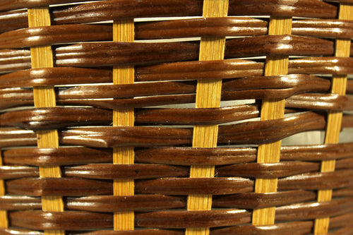 Wicker Basket Pot