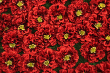 Load image into Gallery viewer, Red Impatiens Flower Panels and Walls