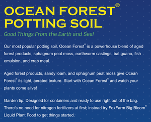 Ocean Forest Potting Soil - 12 QT bag