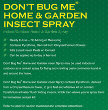 Load image into Gallery viewer, Don't Bug Me Insect Spray - 24OZ RTU