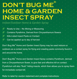 Don't Bug Me Insect Spray - 24OZ RTU