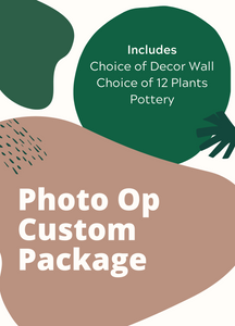 Package - Custom Photo Op