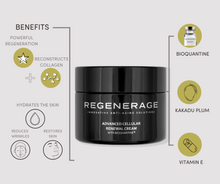 Load image into Gallery viewer, Advanced Cellular Renewal Cream with Bioquantine® -  ANTI-WRINKLES NIGHT CREAM | Regenerage Life