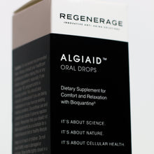 Load image into Gallery viewer, ALGIAID™ Oral Drops - RELAXING,  PAIN AND ANTI-INFLAMMATORY SUPPORT | Regenerage Life