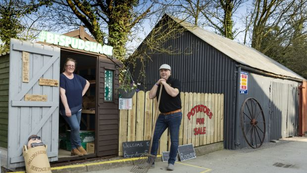 Farm to Fork: The drive-through spudshack offering potatoes by post