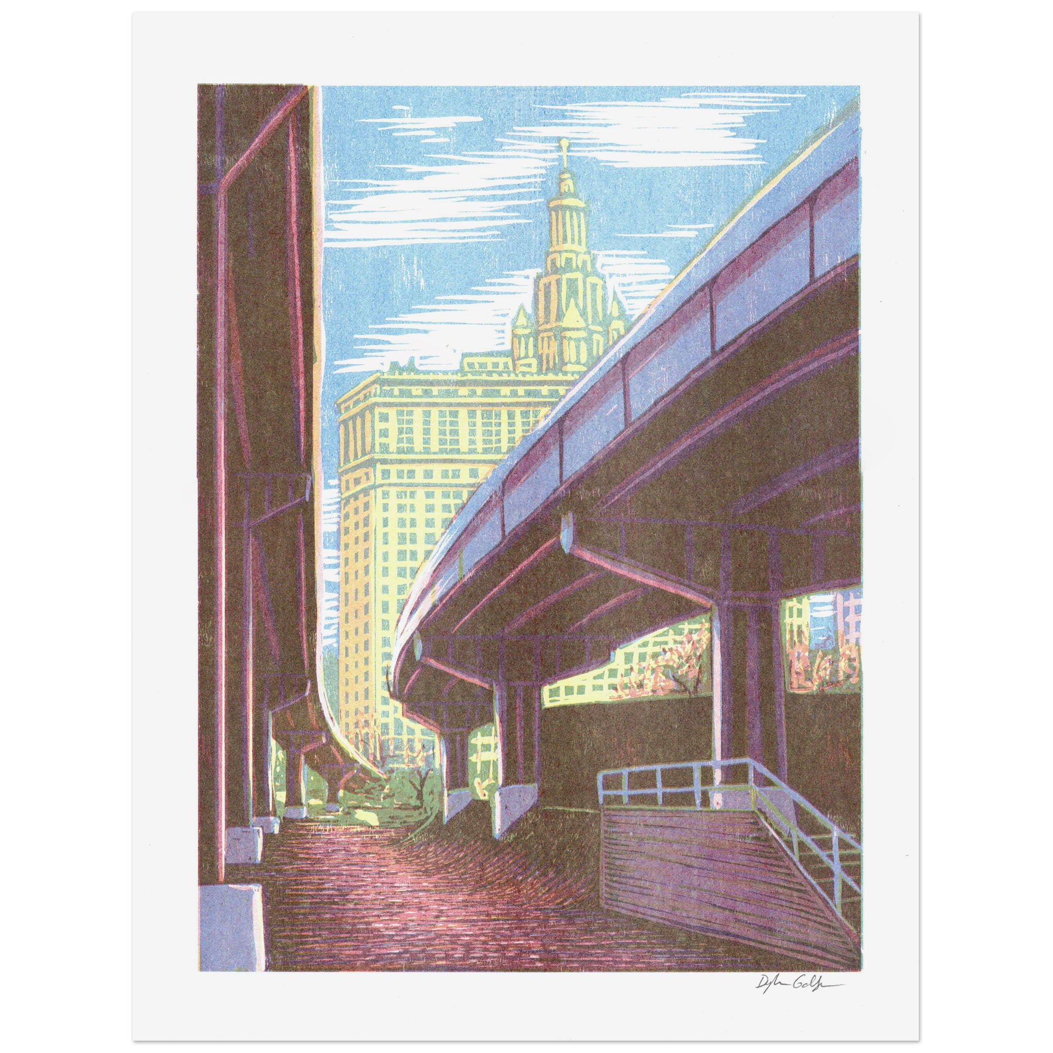 Brooklyn Banks Print