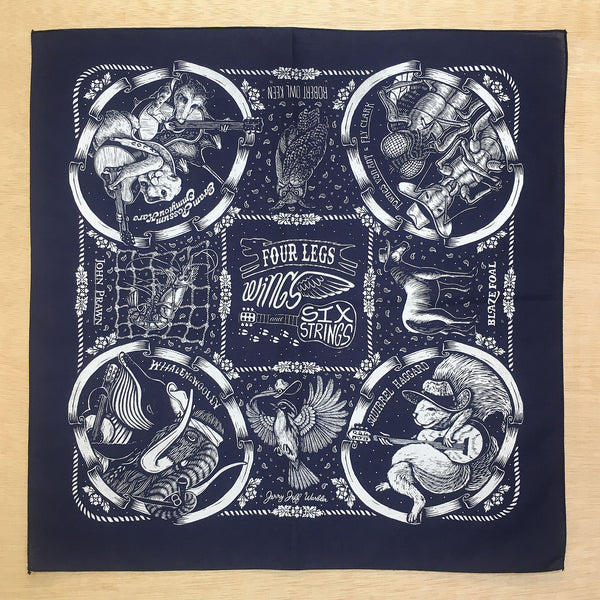 Country Animals Bandana