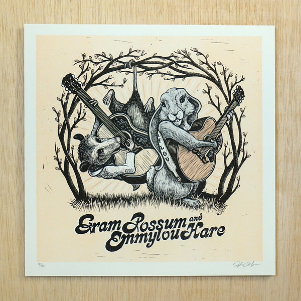 Gram Possum and Emmylou Hare