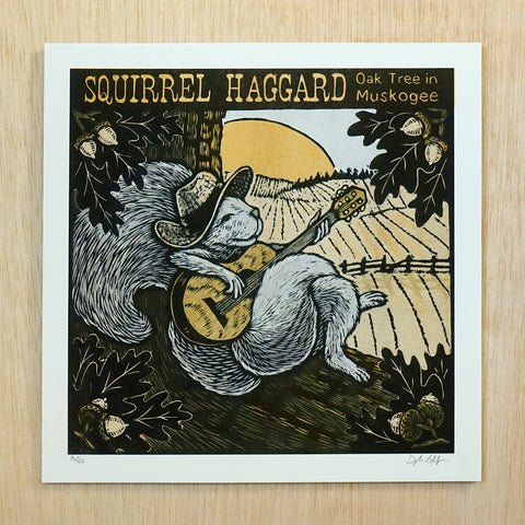 Squirrel Haggard Print