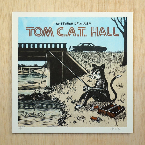 Tom CAT Hall Print