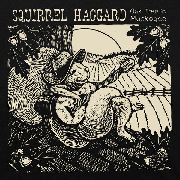 Squirrel Haggard T-shirt