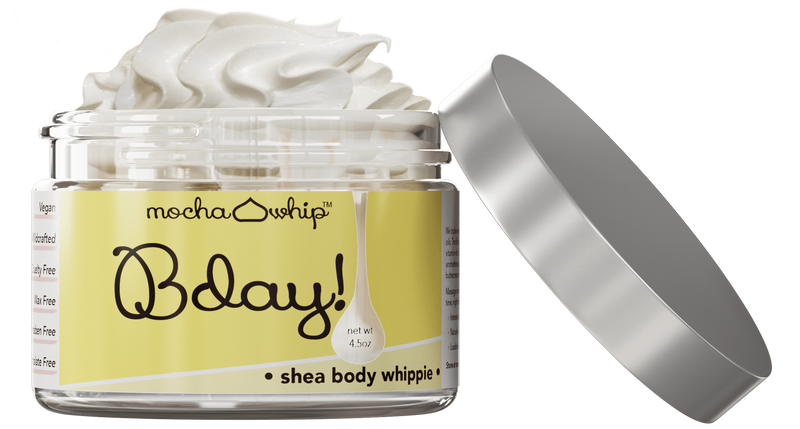 Mocha Whip Shea Butter Whippie, Bday! voted best whipped shea butter body butter handmade vegan