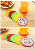 6 pcs Fruit Coaster Novelty