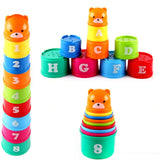 Kids Number Toys Kits Stacking