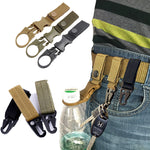 Tactical Key chain Nylon Belt Key Hook