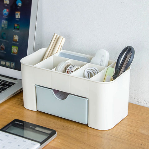 Multifunction Pen Holder Office Plastic Case