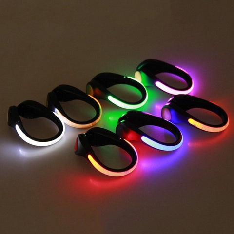 1 Pcs LED Luminous Shoe Clip Warning Light