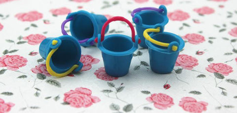 3 Pcs/lot Kawaii Mini Small Bucket Miniature