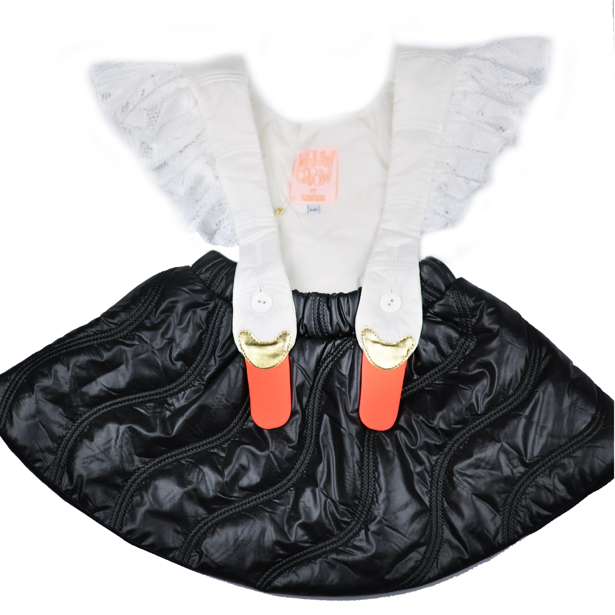 Wauw Capow Bird Girl Frill Dress