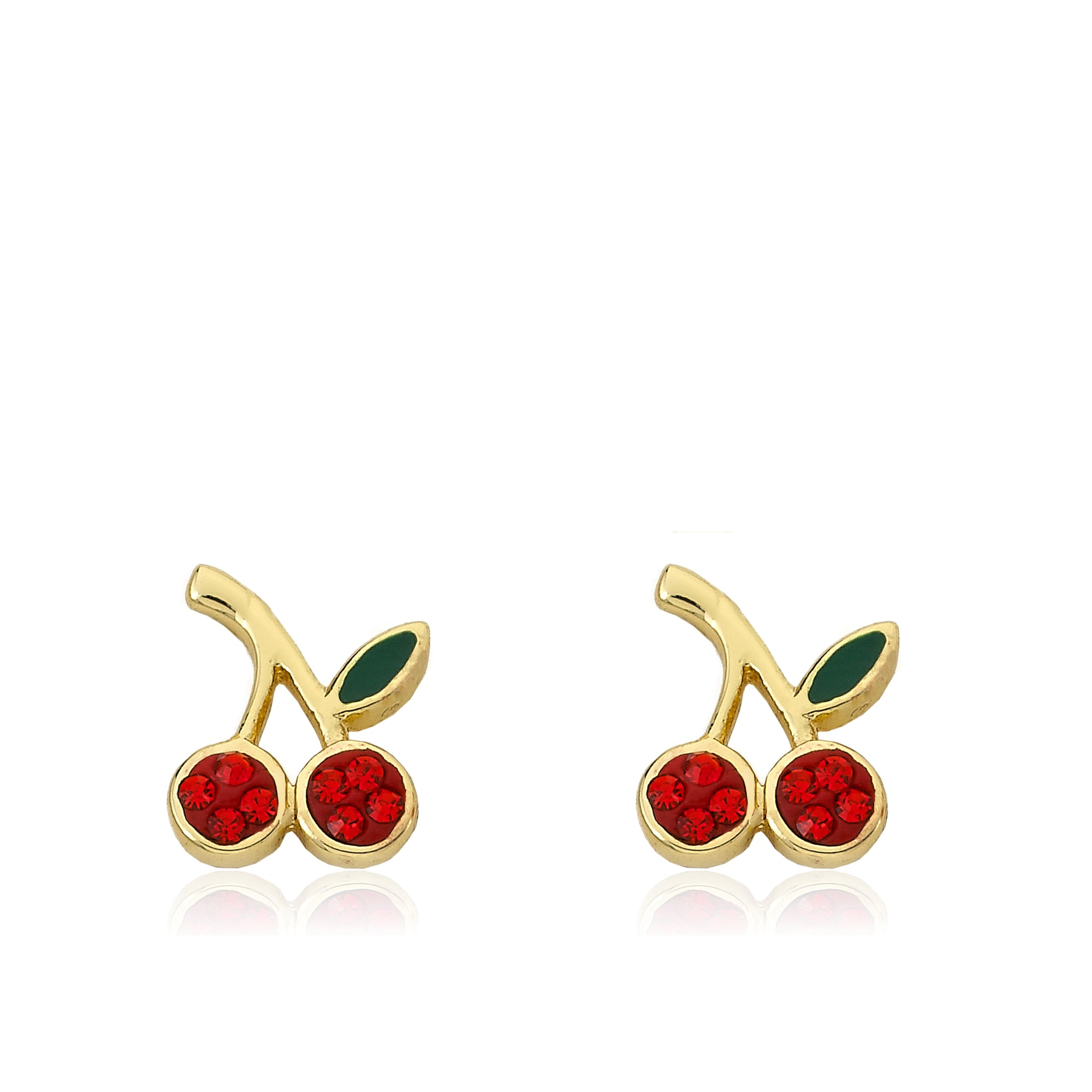 Twin Star CHERRY DELIGHT Cherry Stud Earrings