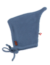 Blinq Ocean Blue Knit Button Bonnet