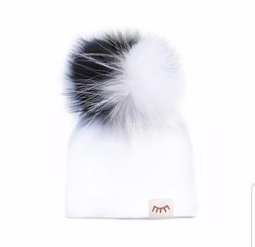 Winx And Blinx Summer Cotton Hat Black&White