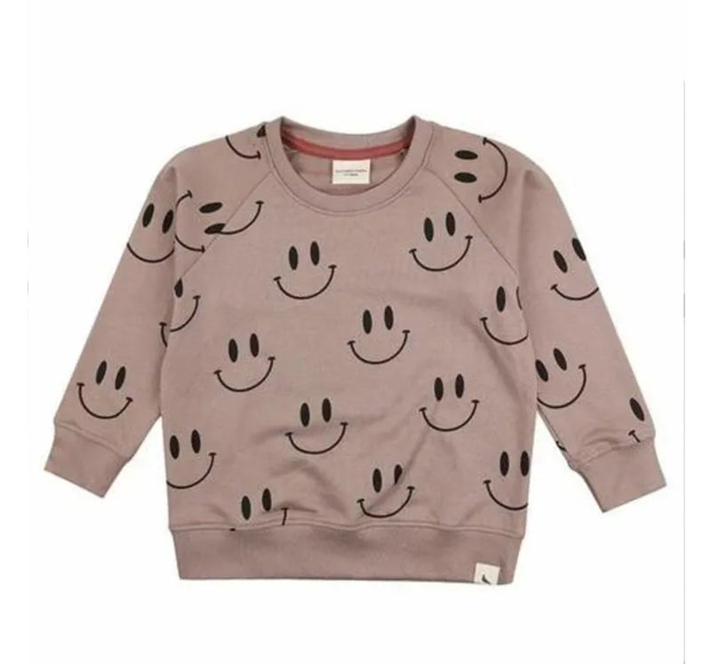 Turtledove London Stone Smiley Sweatshirt