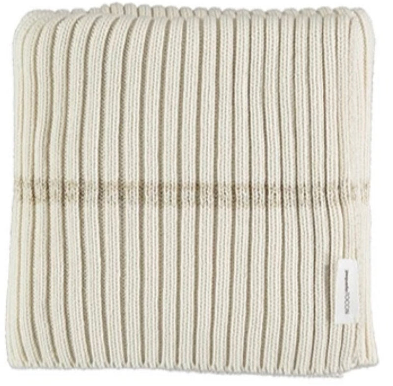 Tocon Ribbed Gold Knit Blanket