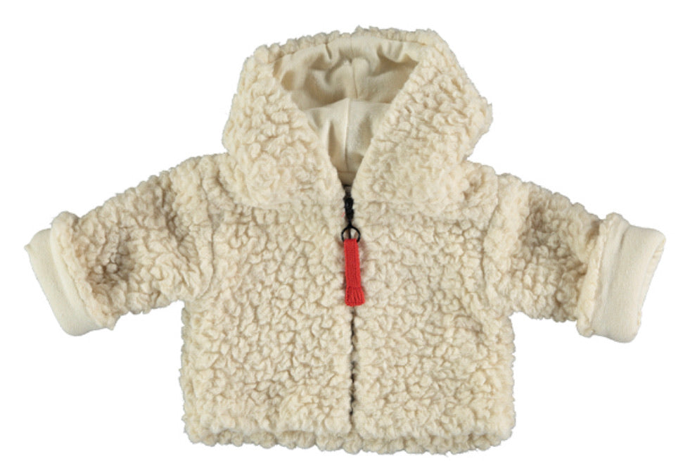 Tocon Baby Jacket Teddy in Natural