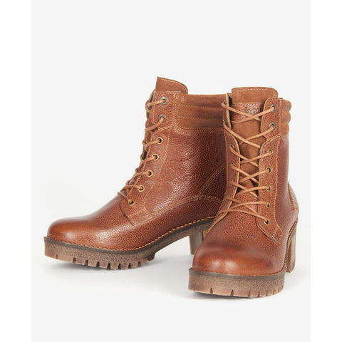 Barbour Stark Ankle Boots Tan
