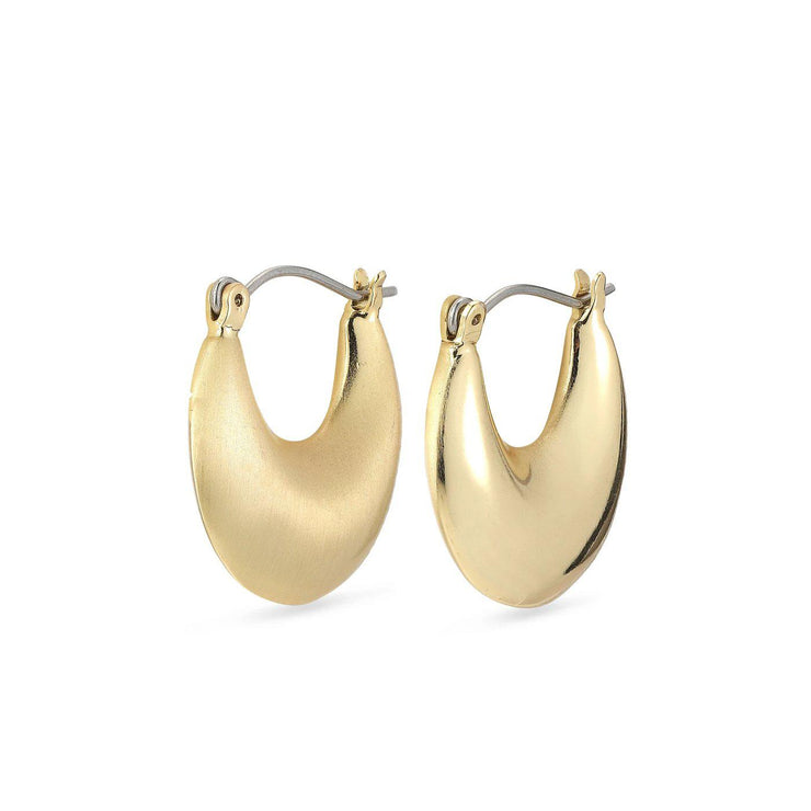 Alma Earrings Gold Plated-Pilgrim-Blue Water Clothing