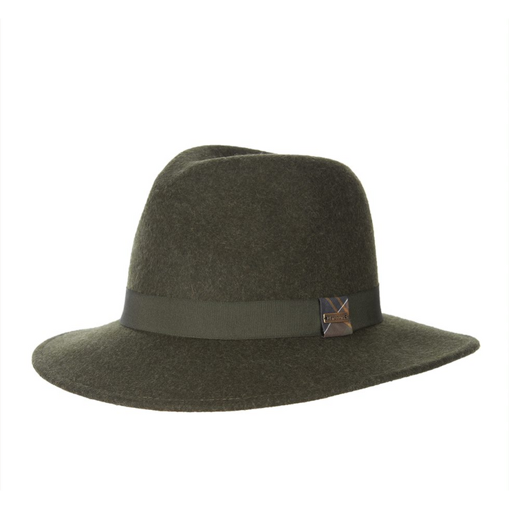 Barbour Deveron Fedora Olive-Barbour-Blue Water Clothing