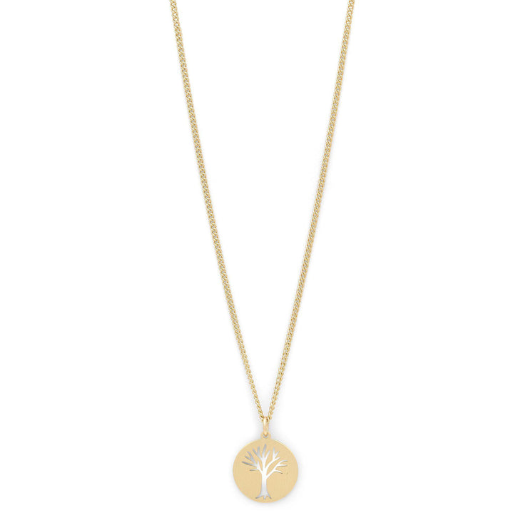 Erin Necklace Gold Plated-Pilgrim-Blue Water Clothing