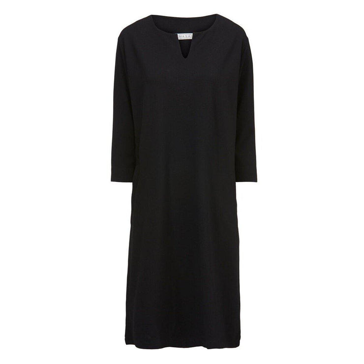 Nikini Dress Black-Masai-Blue Water Clothing