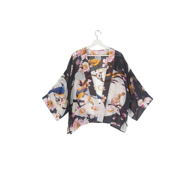 One Hundred Stars Blossom and Birds Kimono-One Hundred Stars-Blue Water Clothing