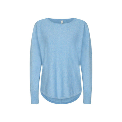 Soya Concept Dollie Pullover Powder blue-Soya Concept-Blue Water Clothing